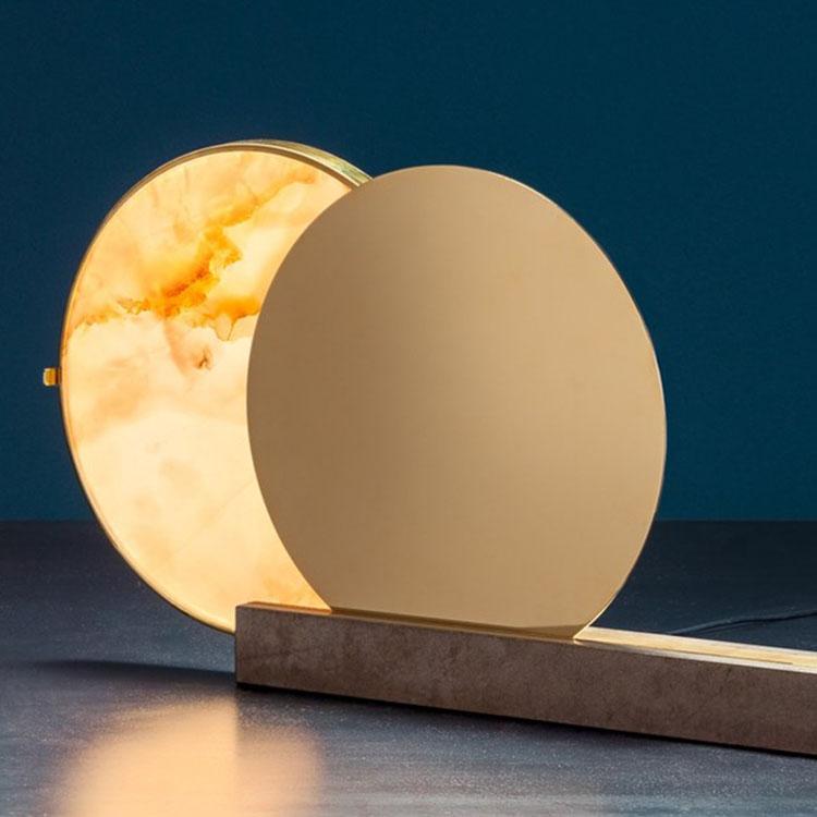 史密斯台灯 月亮灯 镜子灯