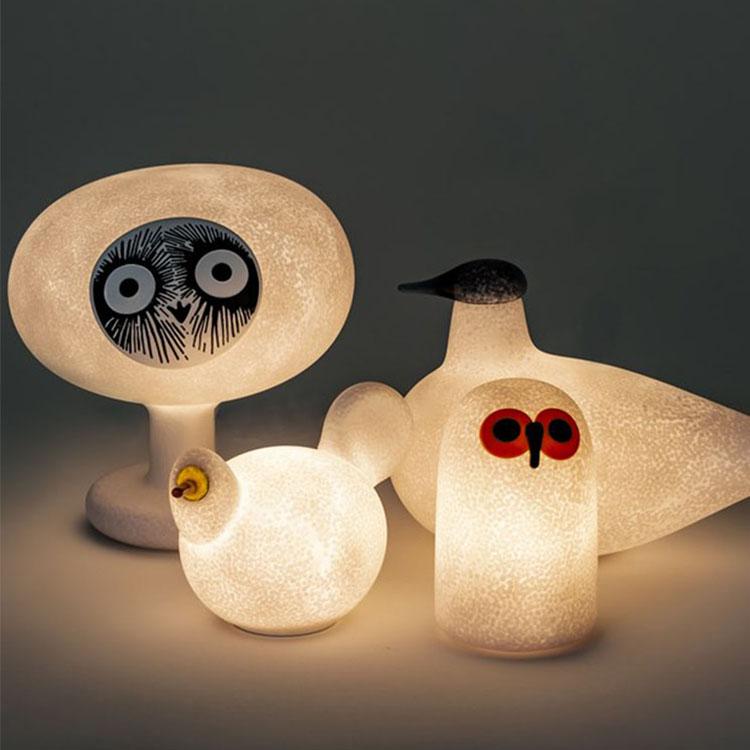 话说系列台灯 动物模型灯具创意设计
