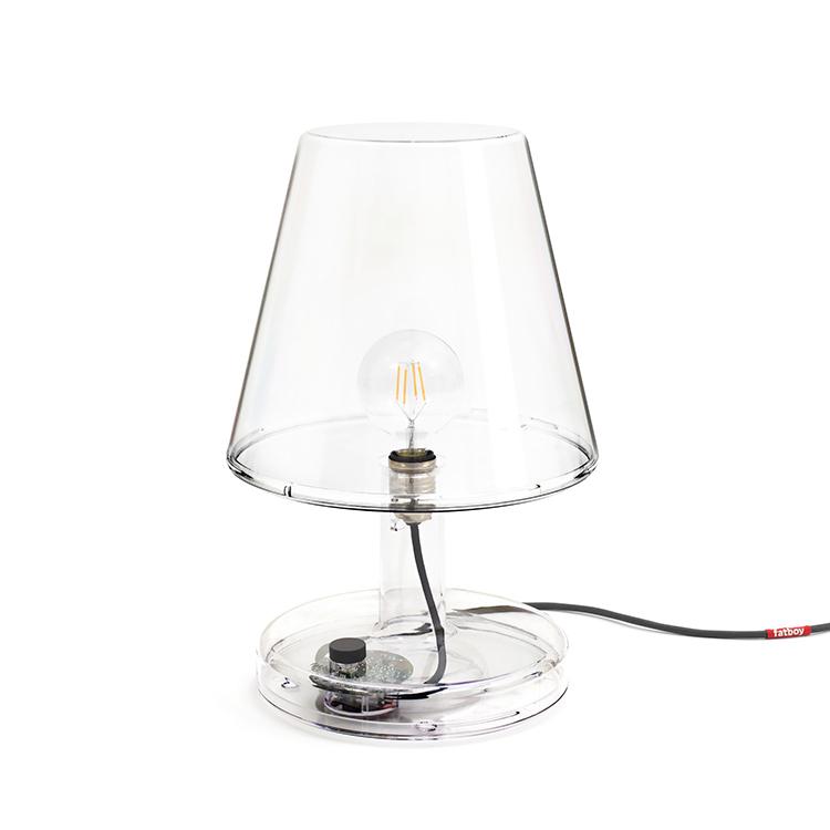 反式-父母系列灯具 父母透明台灯LED照明点亮你的空间