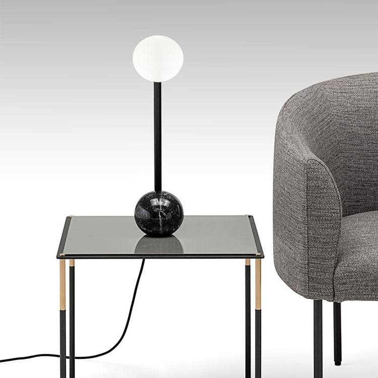 MATERICA系列 创意球形台灯北欧后现代极简艺术设计师客厅壁灯创意简约个性时尚