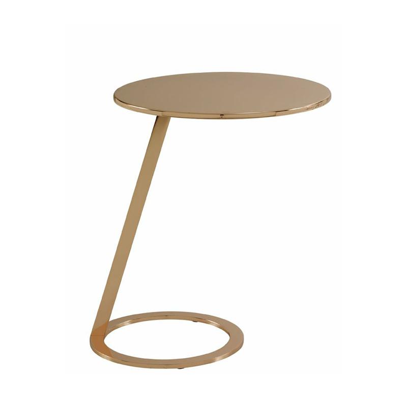 不锈钢电镀茶几角几边几设计师个性创意设计现代简约