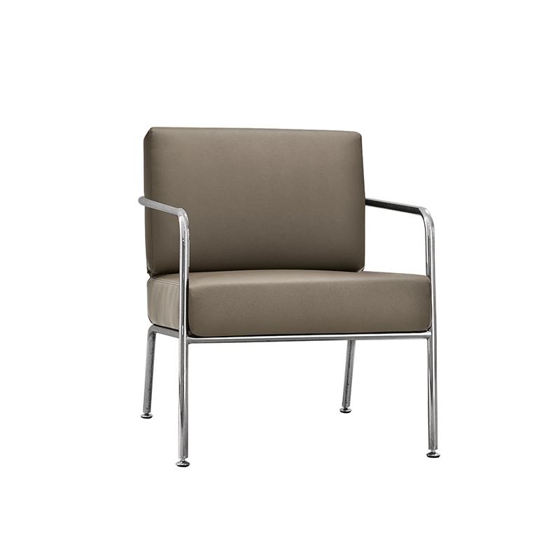 现代简约意大利家具设计师设计 比利沙发 单人无扶手沙发 双人 脚踏组合沙发