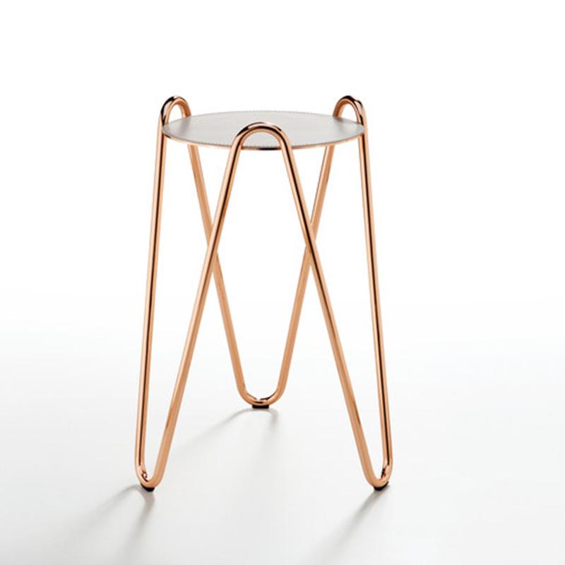 不锈钢电镀茶几边几角几现代意大利Midj个性创意设计 Apelle Chic