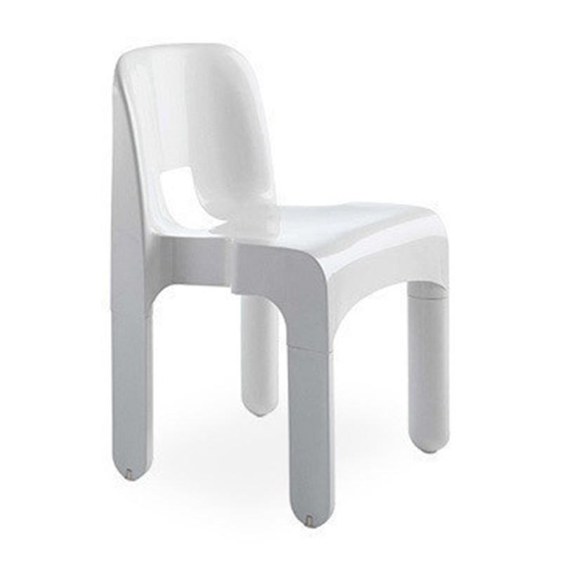 个性定制玻璃钢餐椅约·科伦博kartell Joe Colombo Chair洁简