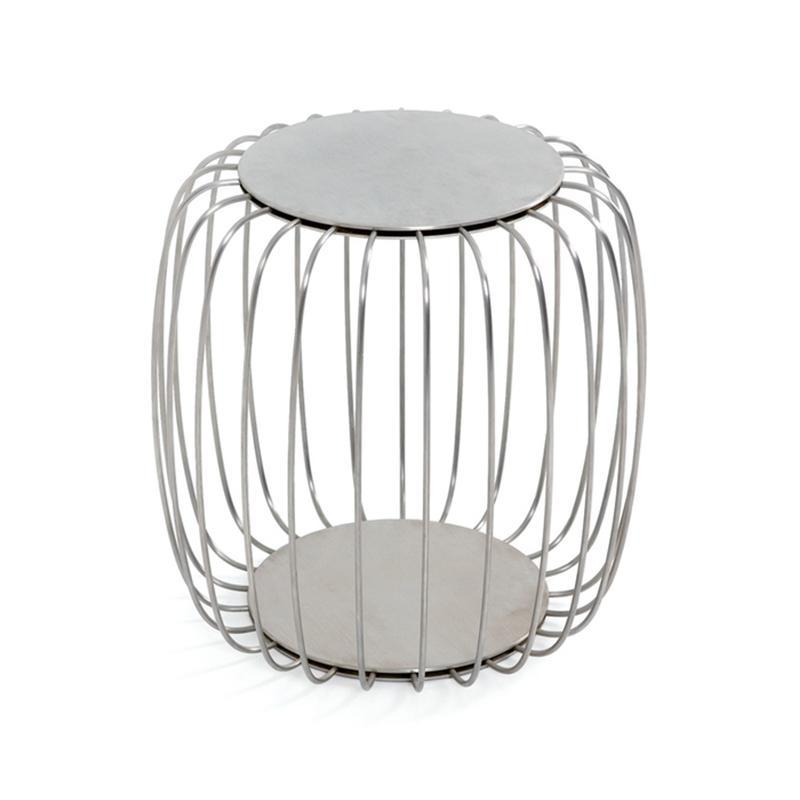 现代简约个性设计不锈钢电镀南瓜桌咖啡桌临时桌 凳子