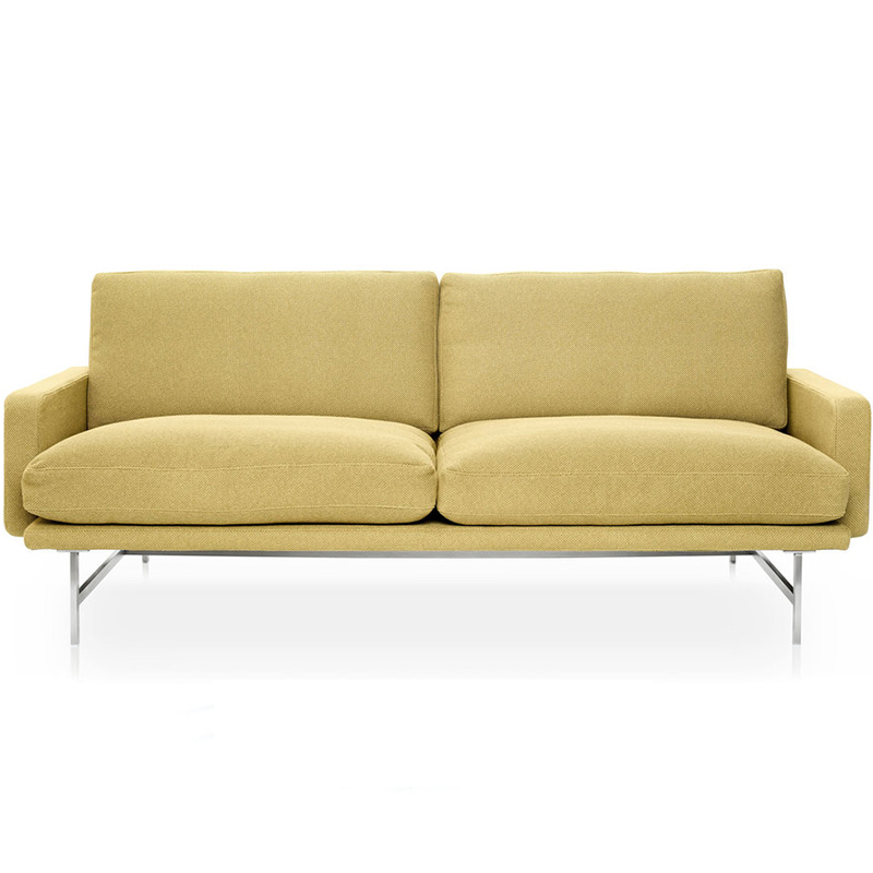 北欧现代简约布艺沙发客厅酒店现代简约小户型双人位网红款沙发
