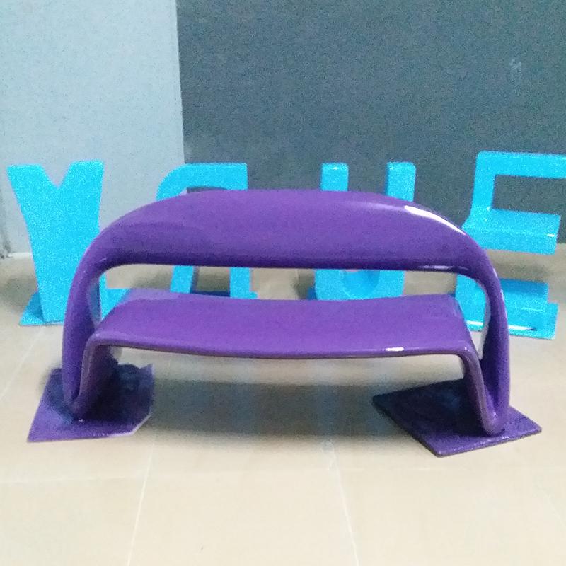新款玻璃钢休闲椅等候休息区长椅影院商场大厅座椅室内外装饰椅子