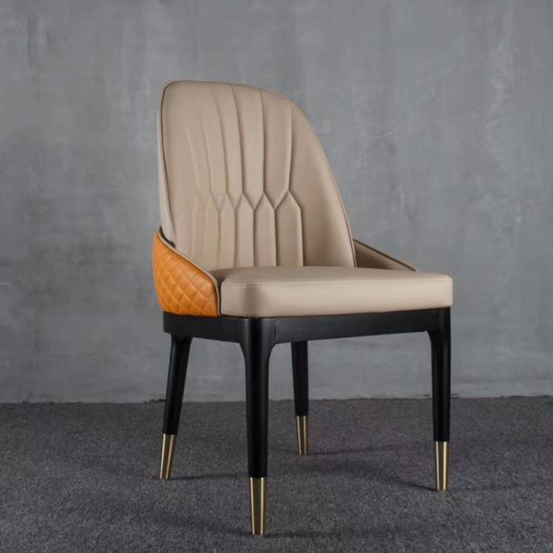 洽谈桌椅后现代靠背椅北欧轻奢现代简约咖啡厅酒店椅子接待椅