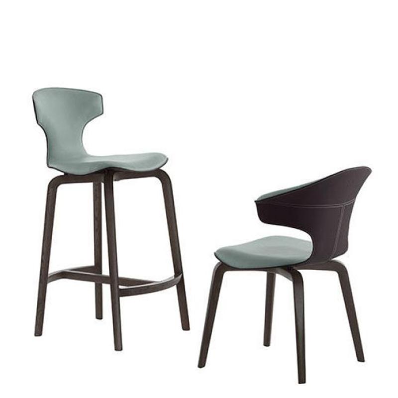 现代简约餐椅北欧休闲椅设计师单椅时尚轻奢蒙特拉椅经典异形书椅样板房家具