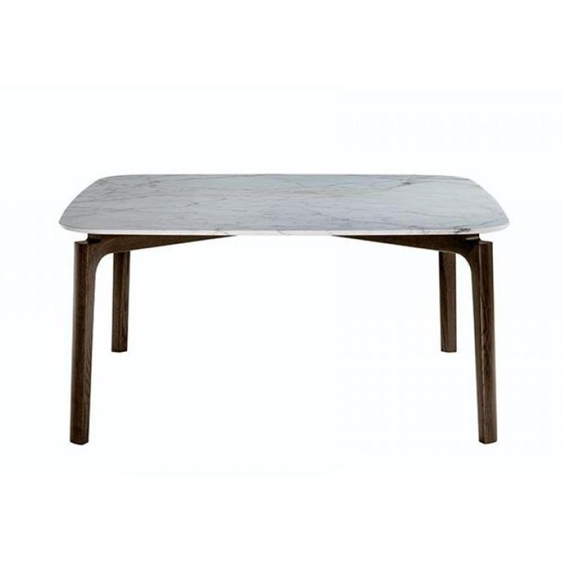 不锈钢金属脚架餐桌椅组合大户型北欧家具餐厅大理石意式极简餐桌中花白