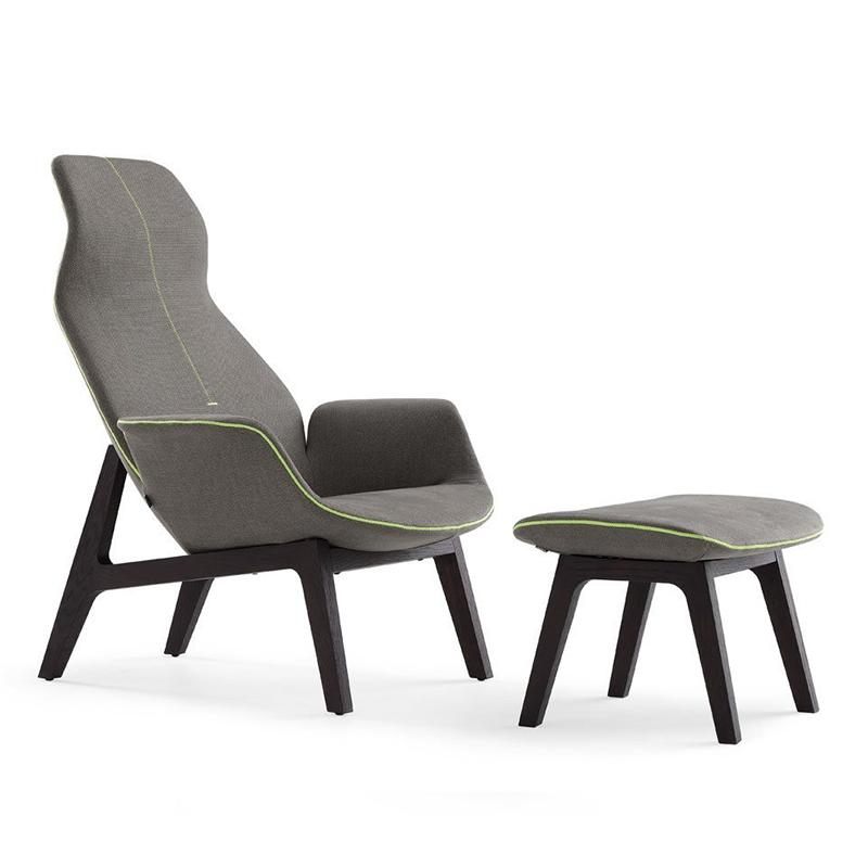 现代异型休闲沙发椅 懒人椅设计师简约扶手高背躺椅 意大利风格休闲椅客厅酒店别墅会所样板房