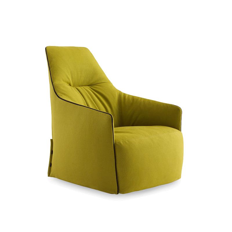 高端家具定制单人沙发爆红款设计师创意时尚沙发椅简约休闲椅
