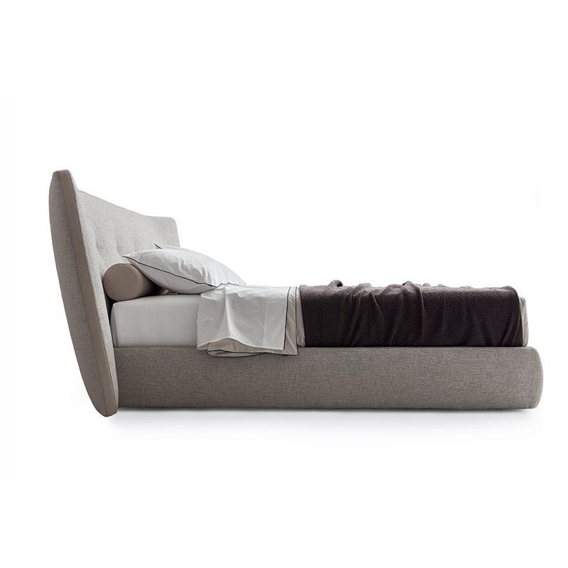 北欧charles简约modaloft现代高端轻奢1.8米主卧双人布艺大床婚床