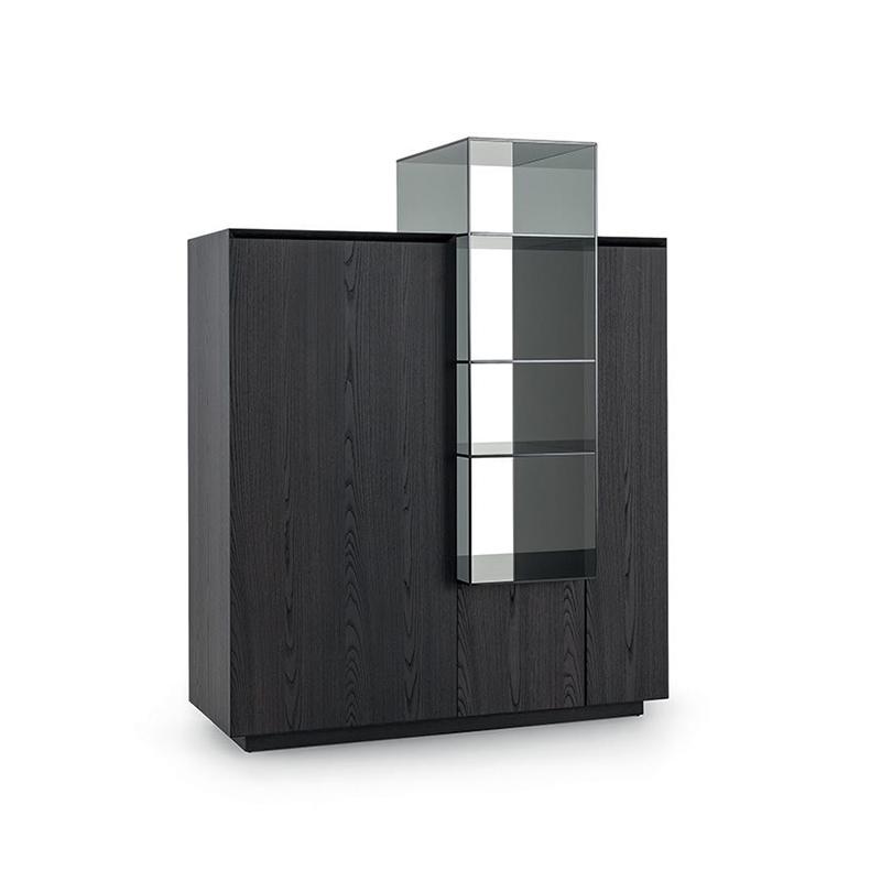 现代简约书架柜储物柜隔断置物架新中式实木博古架 个性定制家具