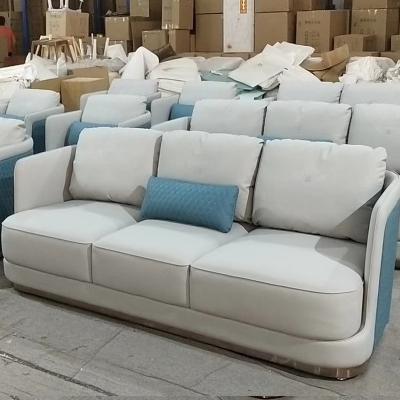 轻奢后现代简约大小户型沙发客厅组合家具酒店公寓卧室样板房布艺北欧单人三人沙发