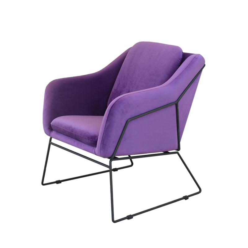 单人椅子北欧沙发椅现代简约休闲椅酒店洽谈椅小户型家用沙发椅