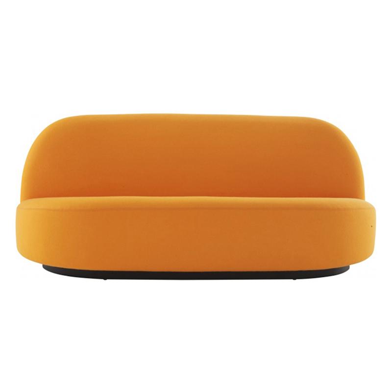 欧式创意设计师样板房布艺双人沙发现代简约个性客厅休闲接待沙发