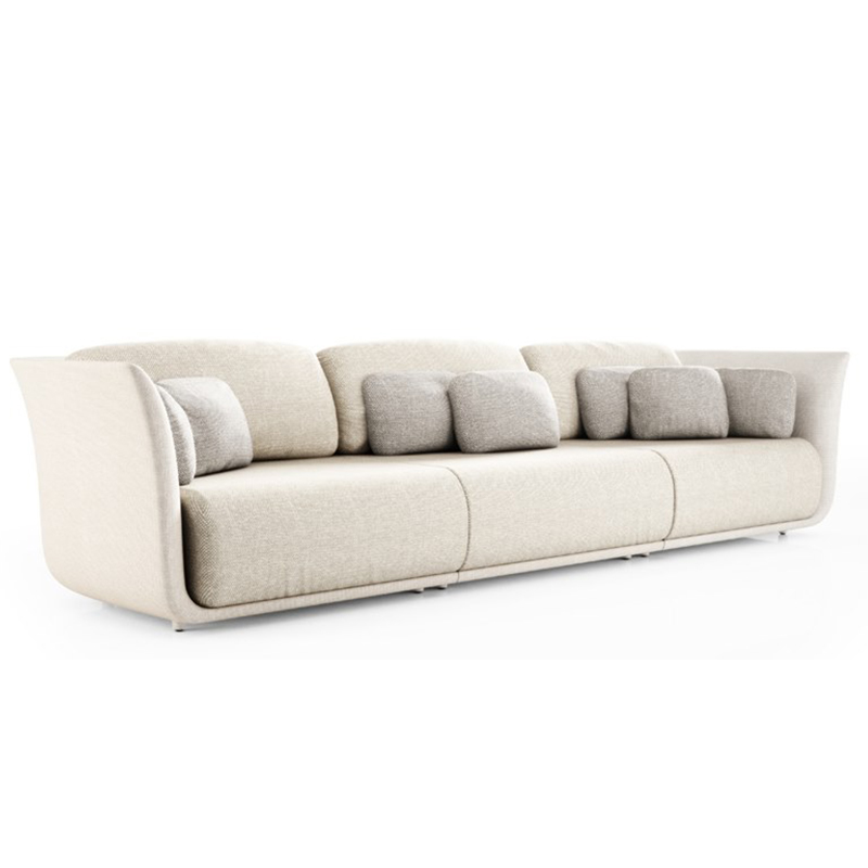 高端家具定制北欧风格布艺沙发轻奢型客厅酒店公寓后现代多人沙发整装