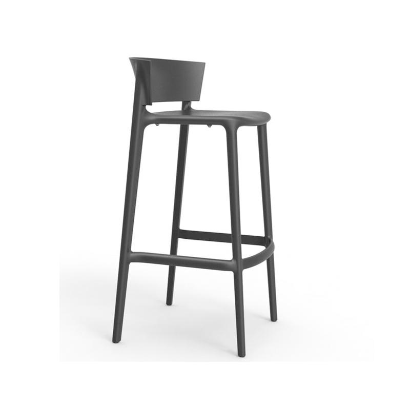 北欧现代简约高脚吧椅办公吧凳庭院花园户外酒吧高脚椅
