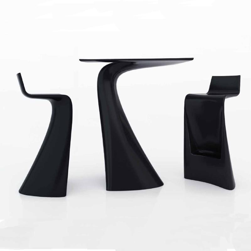 温顿时尚玻璃钢椅子茶几户外时尚简约玻璃钢吧台桌咖啡厅异形凳