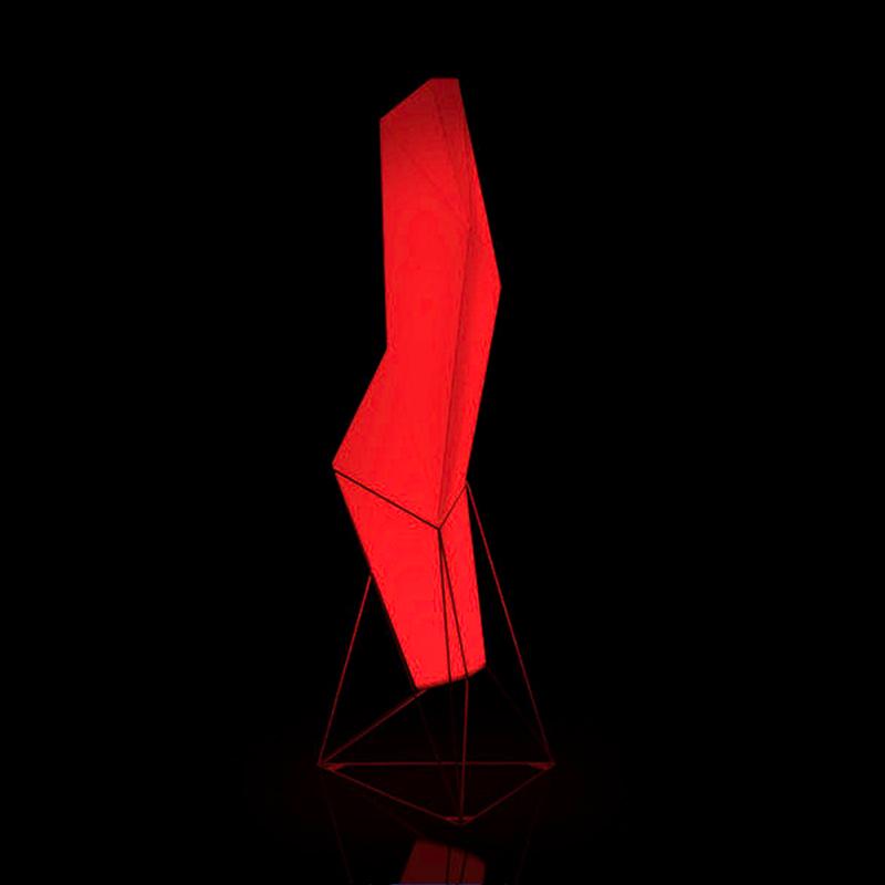 Faz系列立体抽象雕塑 菱形钻石摆件 几何饰品 商业空间紫荆花美陈