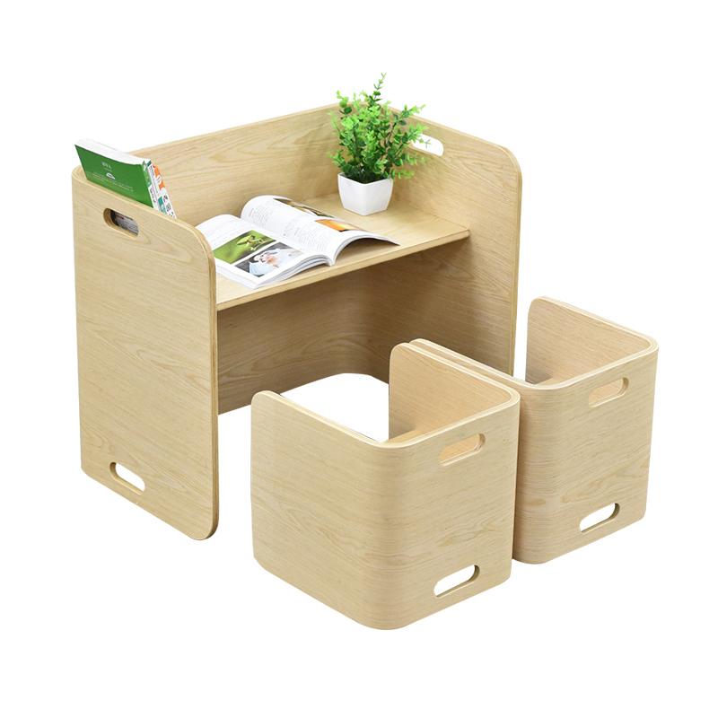 儿童写字桌椅套装组合幼儿园小书桌实木家用游戏玩具桌宝宝学习桌