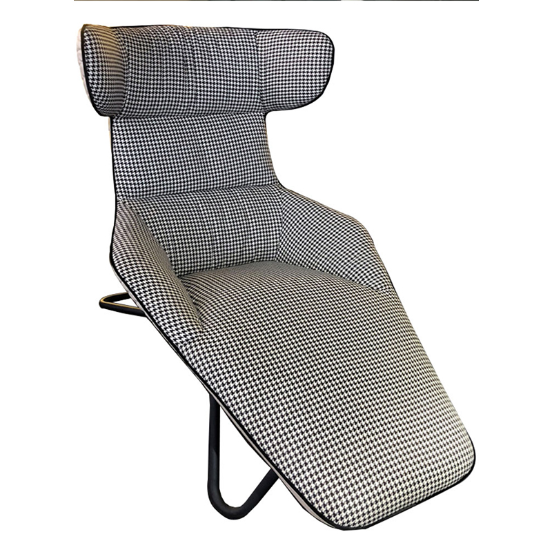 靠背椅躺椅懒人沙发北欧轻奢现代简约酒店卧室别墅阳台户外布艺休闲设计师设计单人沙发休闲椅