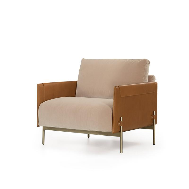 意大利家具 北欧设计师 世界名车品牌 阿斯顿马丁 Aston Martin 定制生产 沙发椅 休闲椅 单人沙发