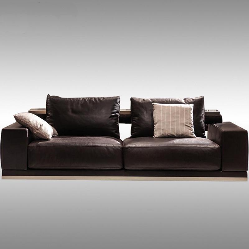 轻奢布艺沙发客厅欧式多人位现代简约大户型布艺皮革沙发高端家具