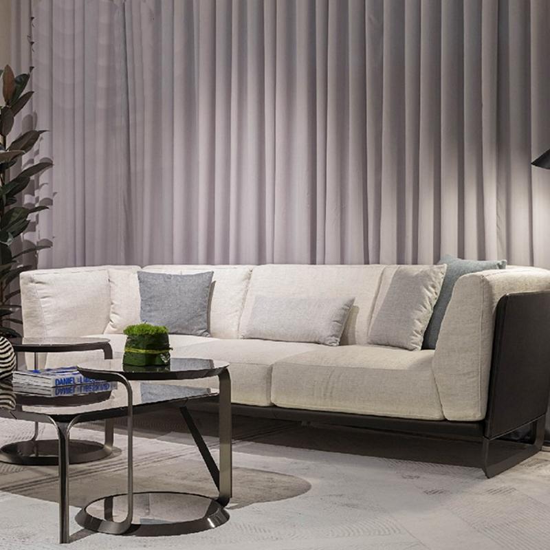 边几圆几角几桌子交几咖啡现代休闲经典沙发金属边几茶台