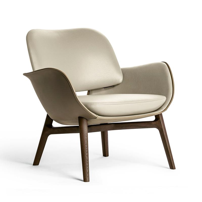 新款 欧式 Martha's Armchair 马鞍皮玻璃钢现代简约休闲椅客厅酒店餐厅单人休闲椅餐椅