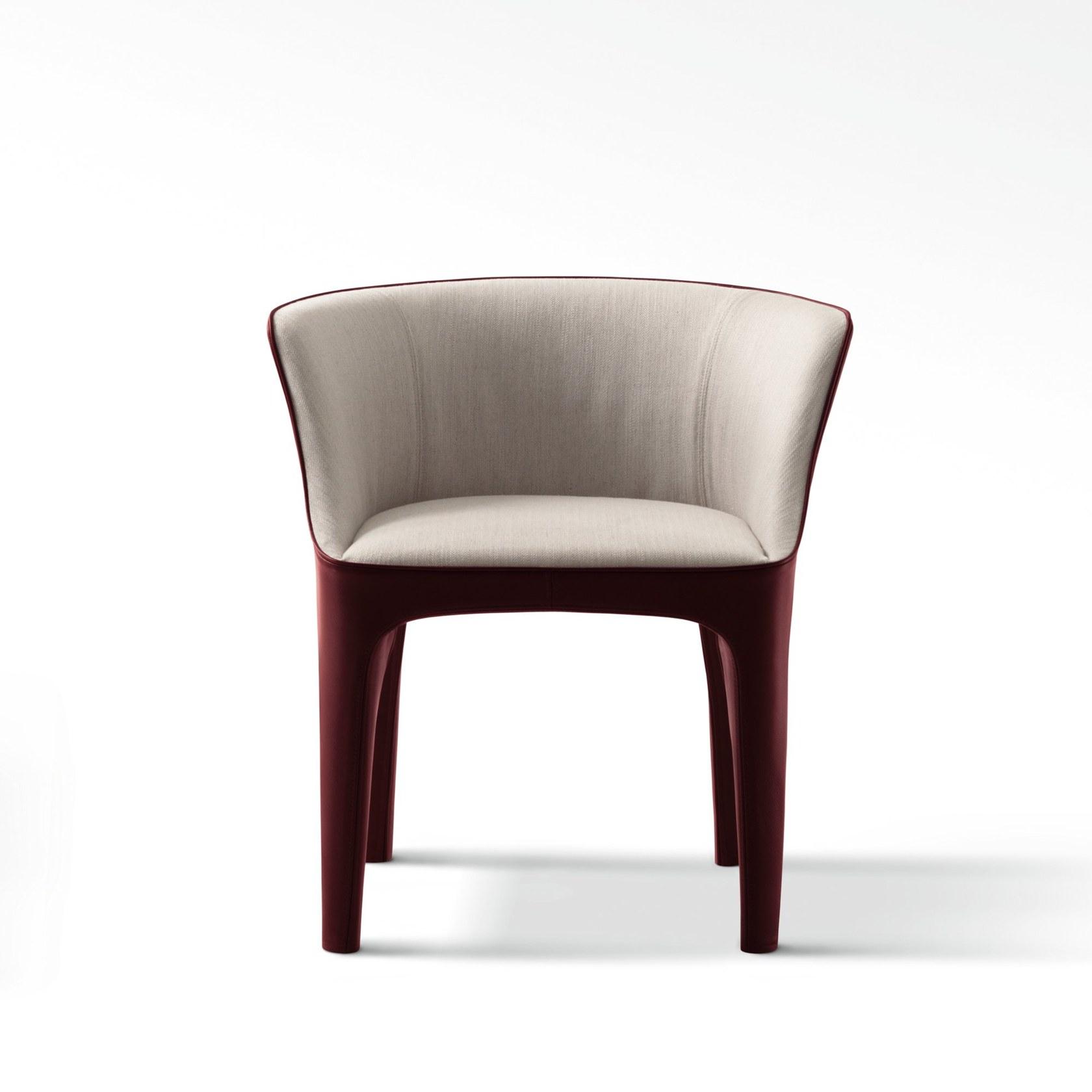 戴安娜餐椅现代简约设计玻璃钢布艺皮革休闲椅客厅餐厅酒店样板房