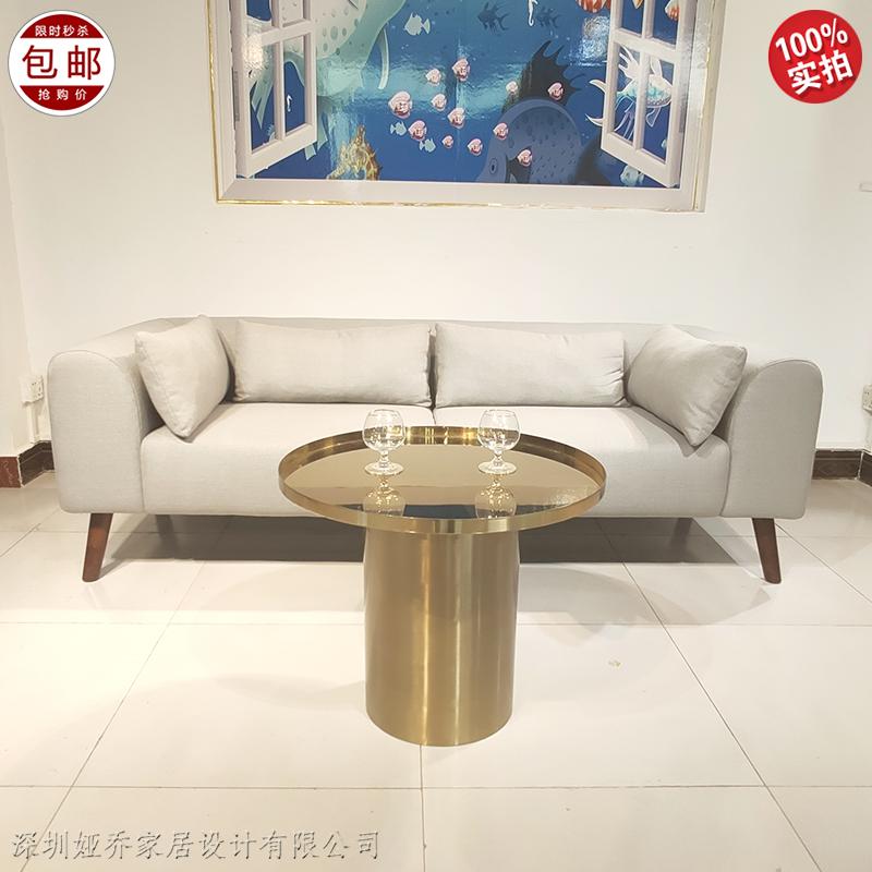 现代简约 布艺皮革 办公沙发 客厅酒店办公室公寓 极简 轻奢风