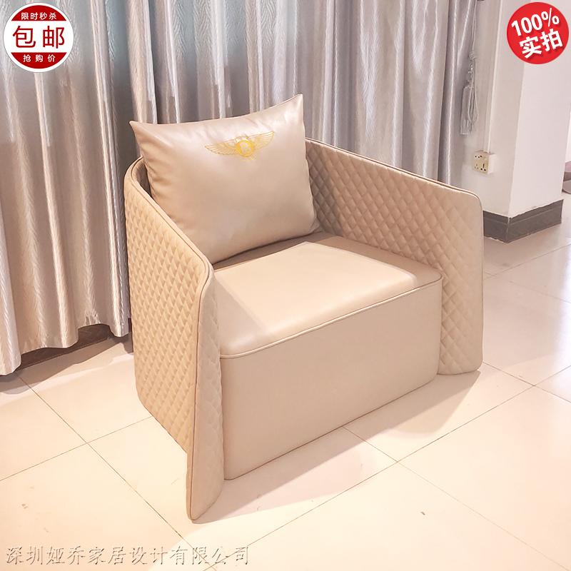 新款 后现代 轻奢 宾利沙发 欧式 美式 奢华客厅 豪华别墅 意式组合沙发