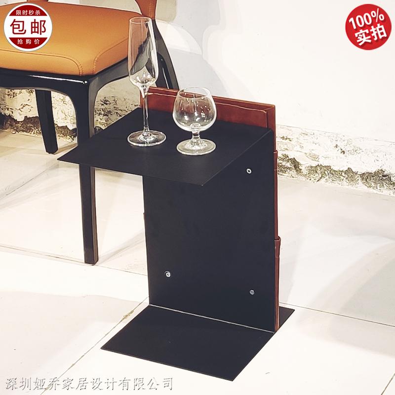 定制 现代简约 铁艺床头柜 置物柜 小边几角几 小型迷你 沙发柜 休闲椅茶几