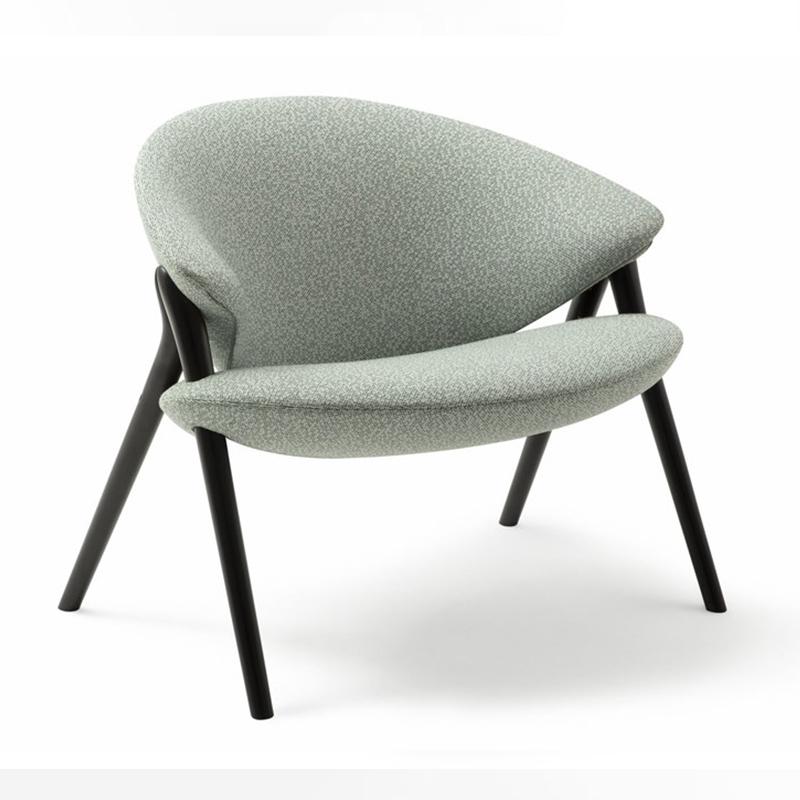 北欧 轻奢ins风 Oliva zanotta 设计师 Constance Guisset 休闲椅 单人布艺靠背扶手椅酒店商务样板房椅
