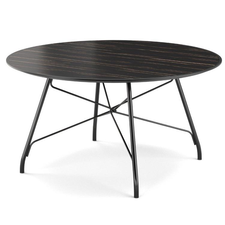 北欧 设计师茶几 PRADDY ORCHARD table 户内外 果园桌餐桌酒店会所 不锈钢实木高端家具可定制