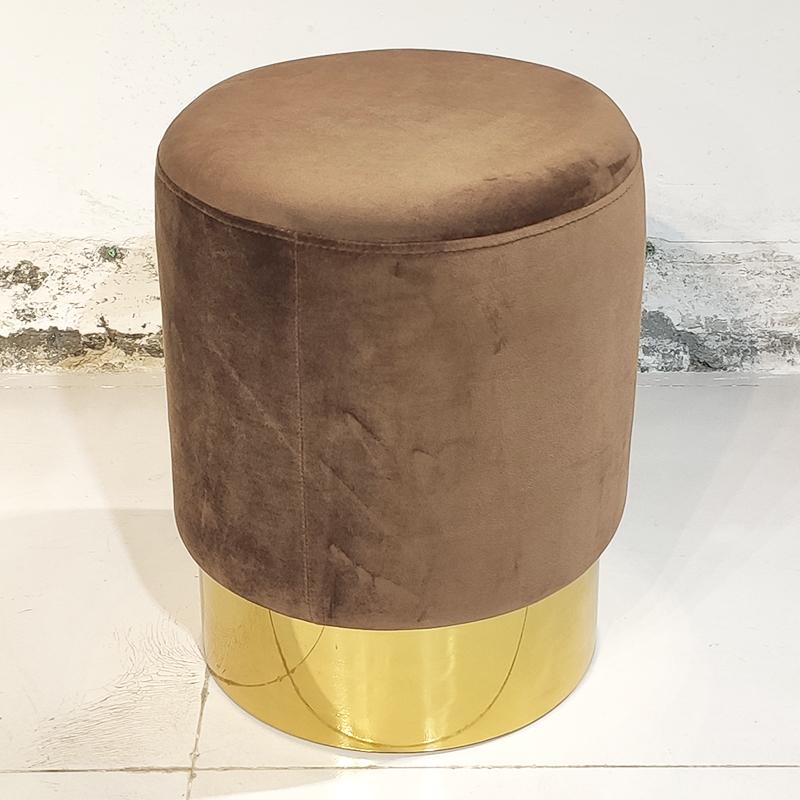现代简约 设计师 Stool  金属底盘 欧式  矮脚凳 圆形梳妆台凳子