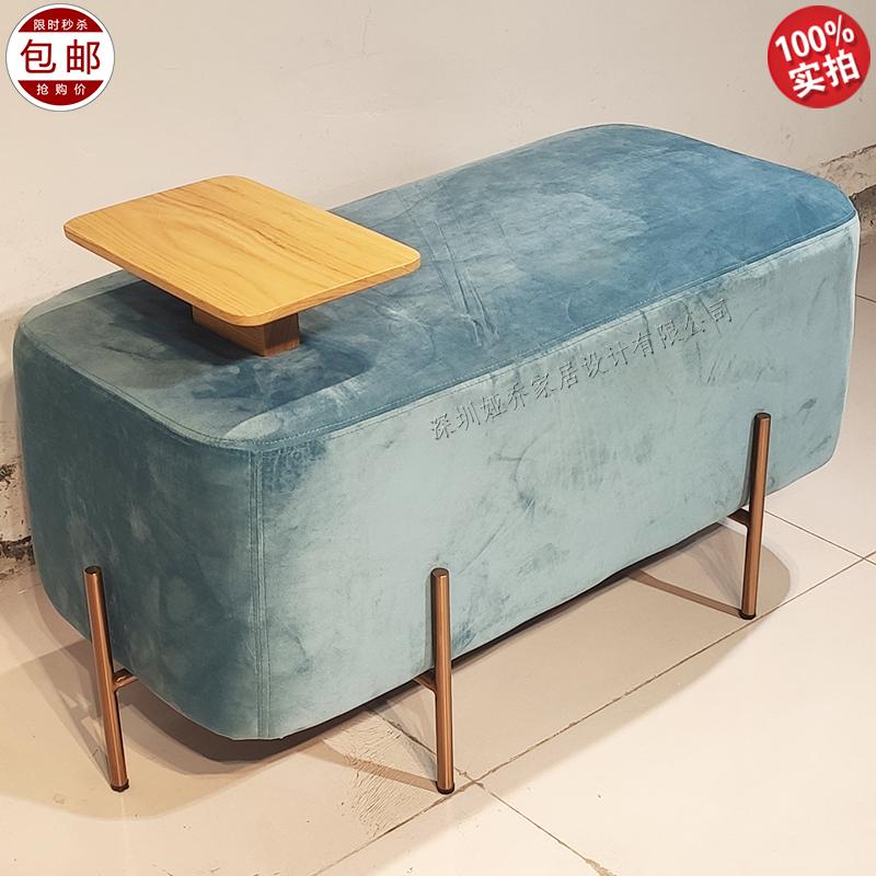 现代简约 北欧设计师 stool 换鞋凳 沙发脚踏 组合凳 客厅矮凳