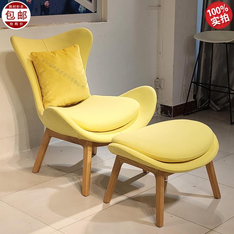 玻璃钢 Calligaris款 意大利设计师 休闲椅 Lazy Armchair 懒人椅商务接待椅售楼处接待椅样板房