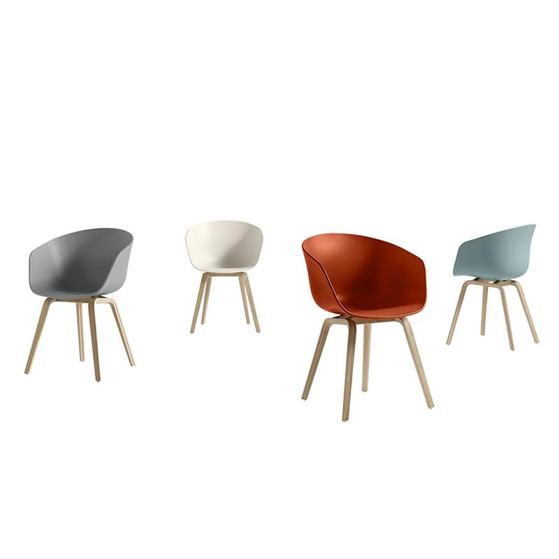 HAY 北欧 Hee Welling 设计师 餐椅 客厅酒店会所样板房休闲椅 餐厅网红店奶茶店咖啡店 餐椅 靠背椅