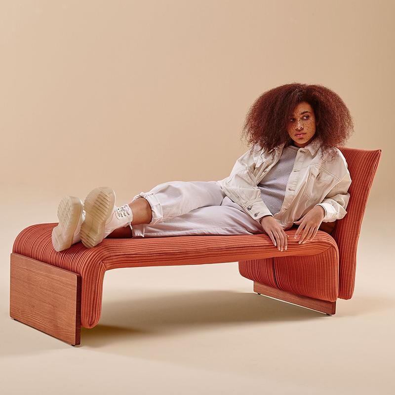 设计师 PerezOchando 躺椅 睡椅 DIWAN  lounge By Sancal沙发椅 客厅酒店会所样板房 定制家具