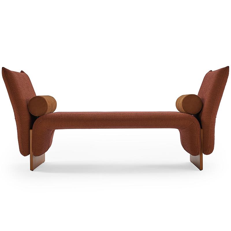 北欧设计师 PerezOchando 新款 创意设计 轻奢单人沙发椅 酒店卧室 睡椅DIWAN  沙发床 Sofa bed