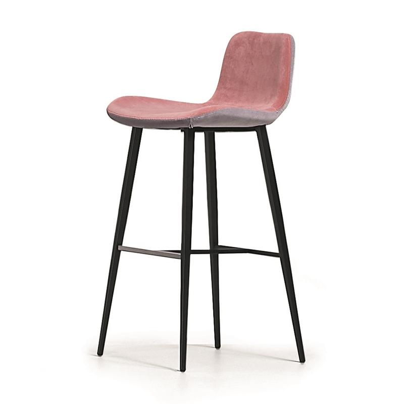 现代简约 设计师 创意吧椅 Dalia 轻奢北欧 高脚吧椅 定制样板房家具 酒吧椅