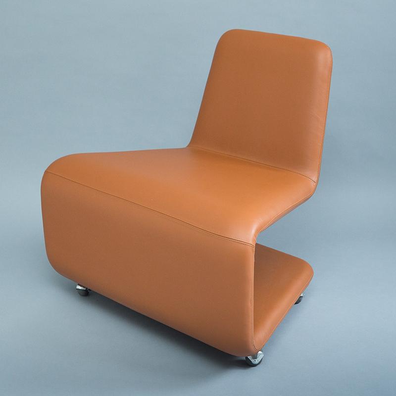 北欧现代极简创意个性 URBAN LOUNGE By Anne Linde 设计师款线条折叠休闲椅异形懒人躺椅