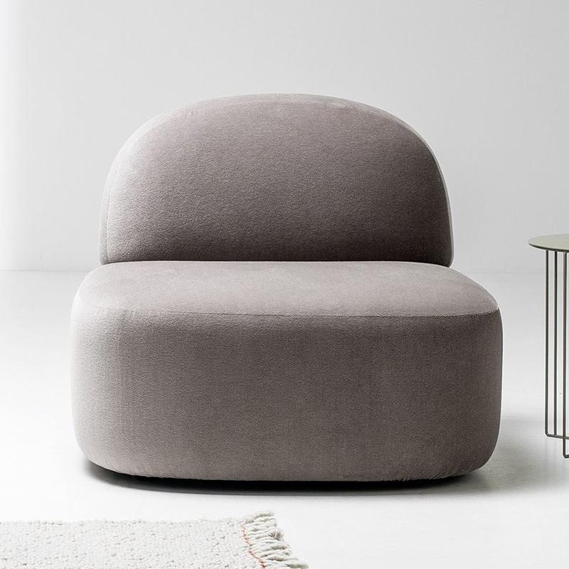 卧室沙发客厅小沙发单人沙发椅 GUEST sofa By La Cividina 艺沙发 懒人沙发 阳台休闲沙发椅