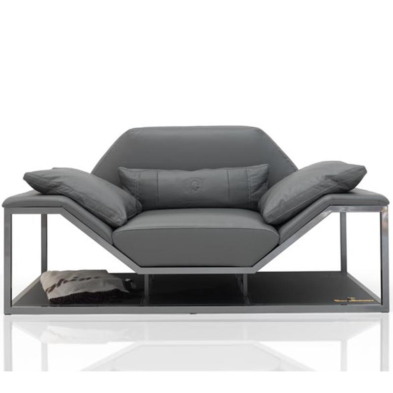 北欧户外 Long Beach Modern 休闲沙发 Casa sofa chair 躺椅 别墅庭院花园沙发组合室外防水防晒样板房家具