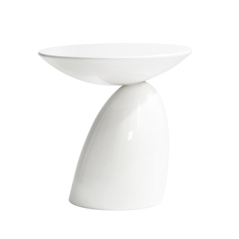欧美时尚 经典 设计师 家具PARABEL SIDE TABLE 蘑菇边几 玻璃钢茶几 小餐桌