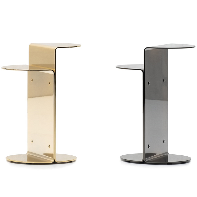 北欧 Minotti茶几 欧式简约设计现代 FLIRT 家用客厅金属沙发边角几