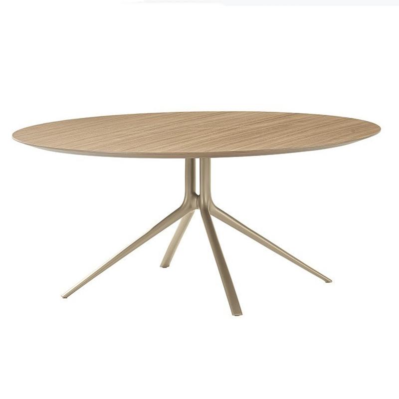北欧设计师 现代轻奢简约设计 Poliform款 Mondrian 蒙德里安餐桌